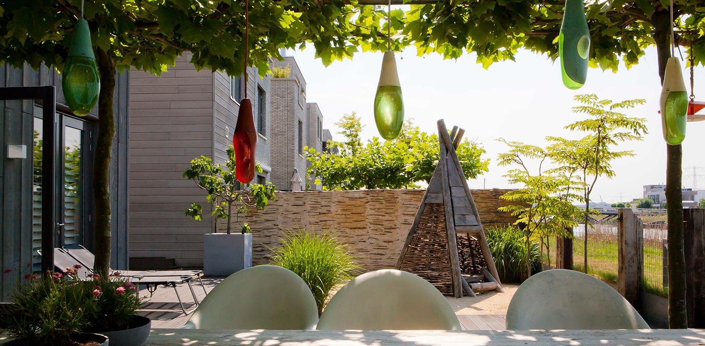 Stadstuin ijburg denkers in tuinendenkers in tuinen for Tuinontwerp stadstuin