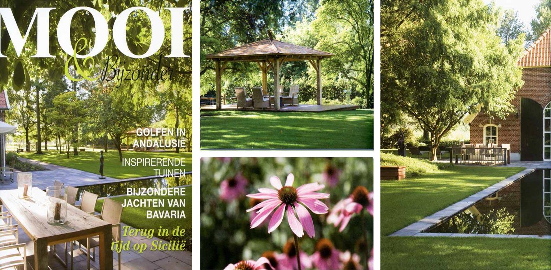 boerderijtuin Eibergen in het blad 'Mooi & bijzonder' voor het voetlicht - Denkers in Tuinen.