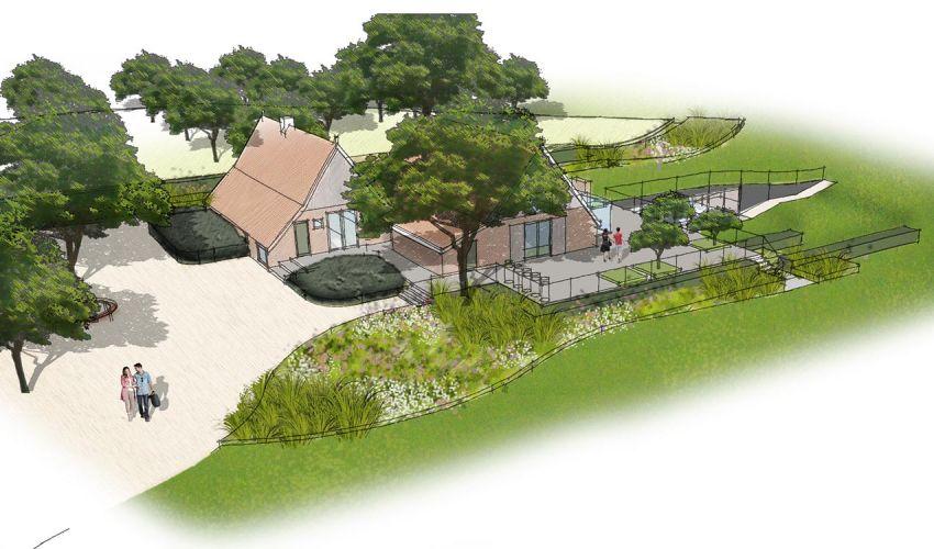 Landgoed lonneker denkers in tuinendenkers in tuinen for Tuinontwerp app