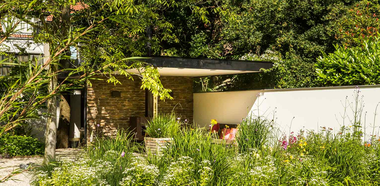 Tuinontwerp stadstuin leiden veranda 6 tuinarchitectuur for Tuinontwerp stadstuin